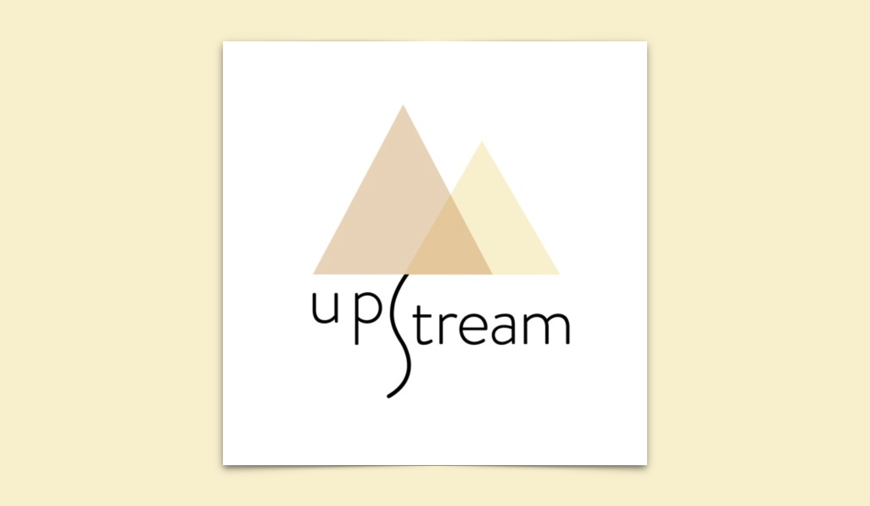 Upstream Podcast Logo