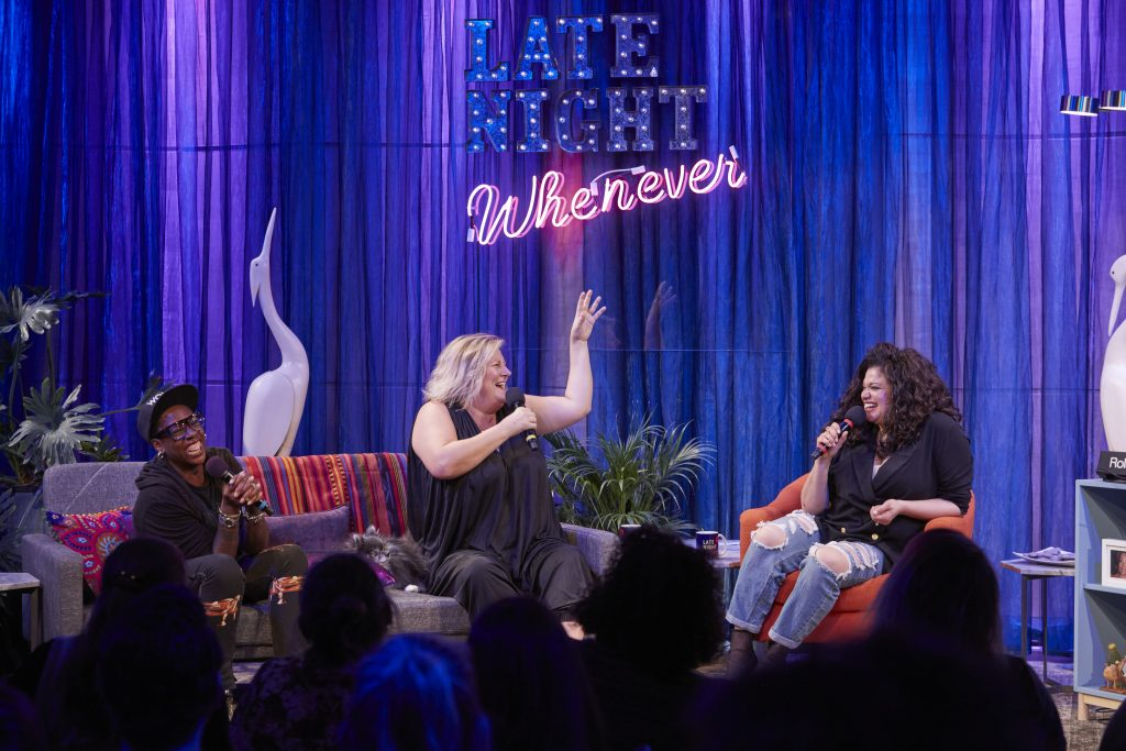 Gina Yashere, Bridget Everett, and Michelle Buteau
