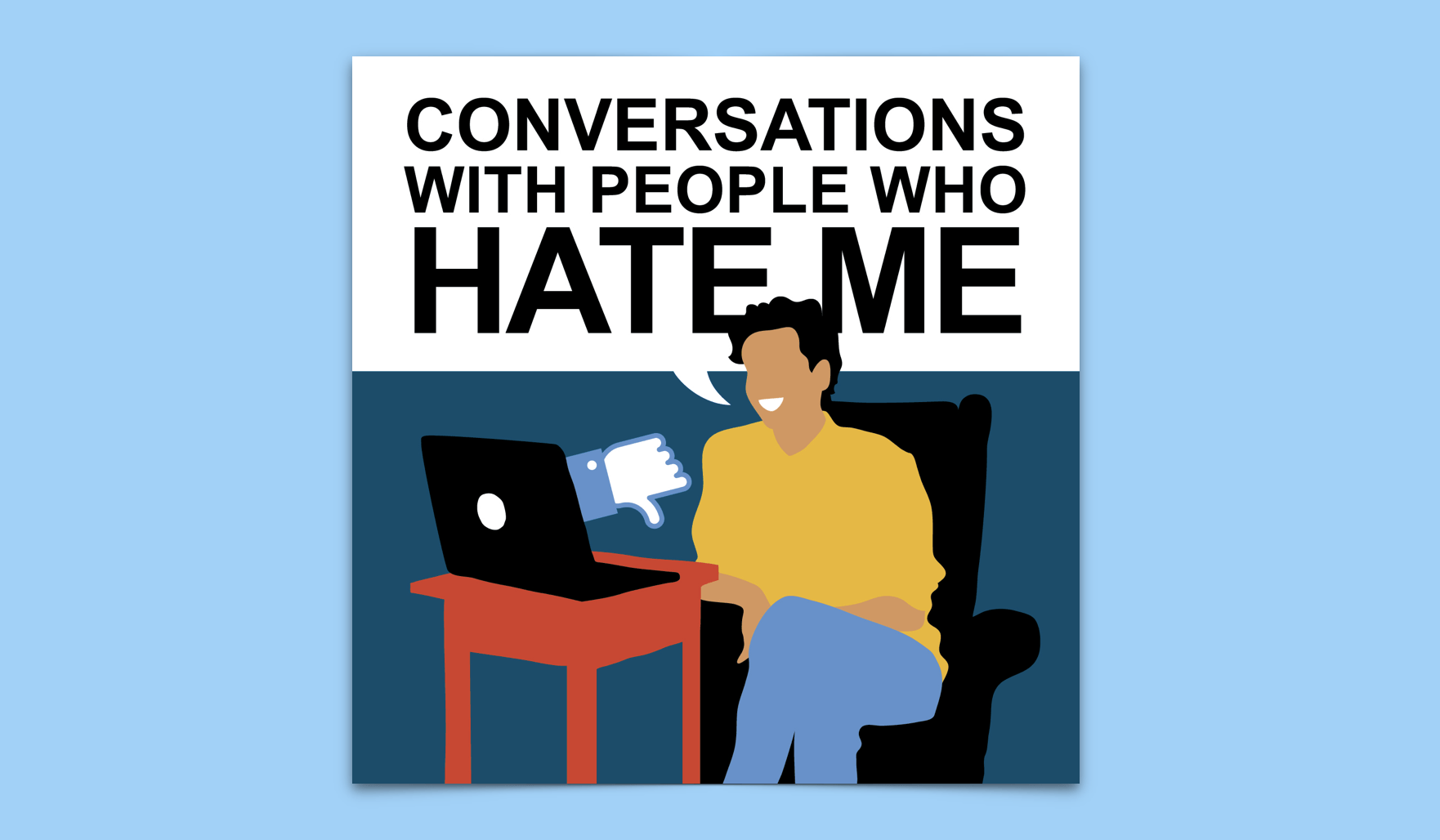 Conversations With People Who Hate Me Logo