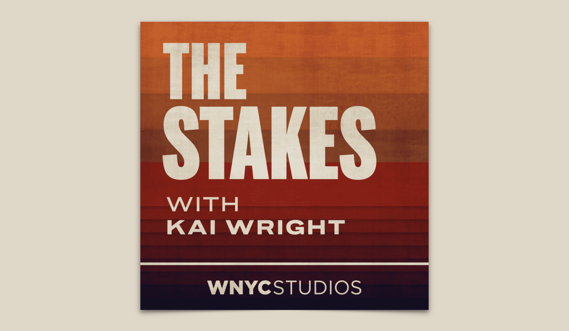 WNYC's The Stakes