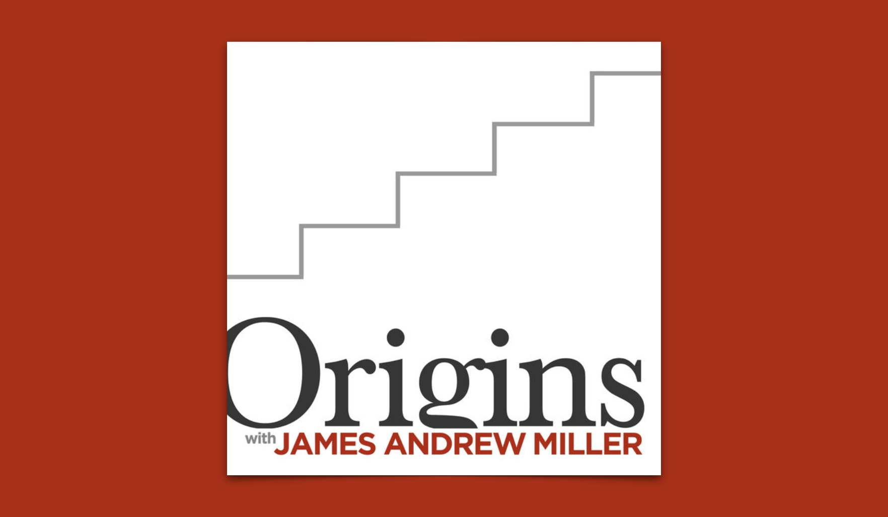 Origins with James Andrew Miller Logo