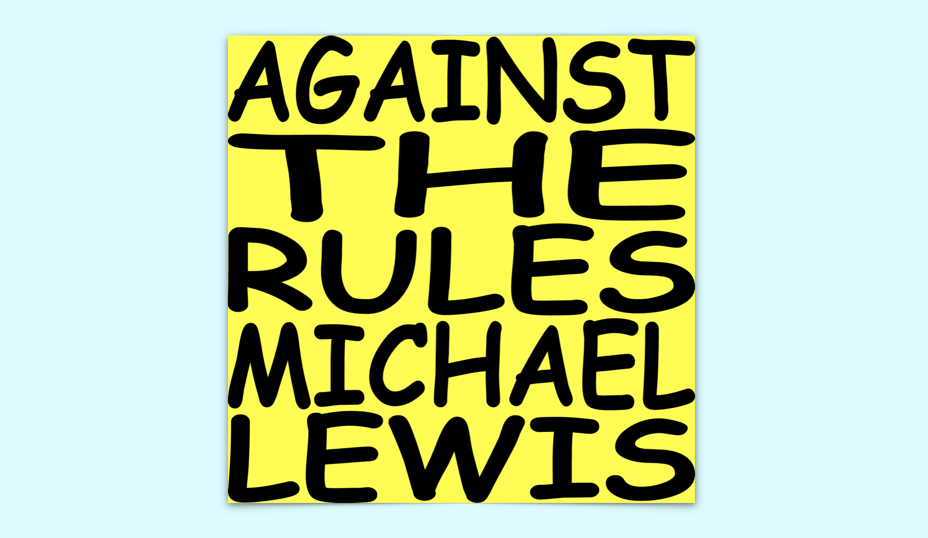 Michael Lewis Podcast Logo
