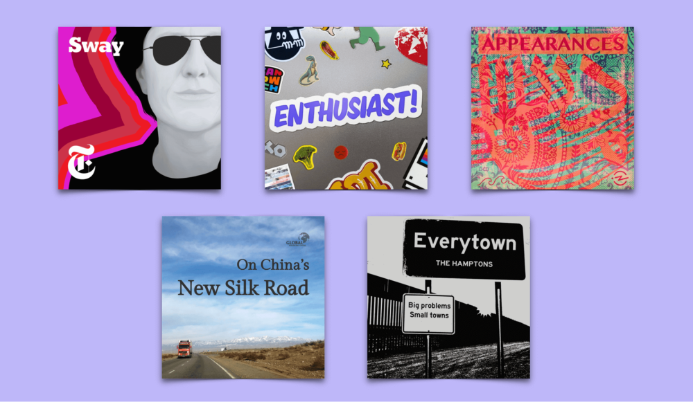 October Podcasts: Sway, Appearances, Enthusiast